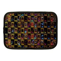 Kaleidoscope Pattern Abstract Art Netbook Case (Medium)