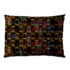 Kaleidoscope Pattern Abstract Art Pillow Case