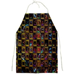 Kaleidoscope Pattern Abstract Art Full Print Aprons