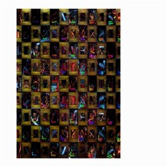 Kaleidoscope Pattern Abstract Art Small Garden Flag (two Sides)