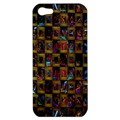 Kaleidoscope Pattern Abstract Art Apple Iphone 5 Hardshell Case