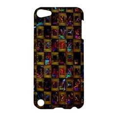 Kaleidoscope Pattern Abstract Art Apple iPod Touch 5 Hardshell Case