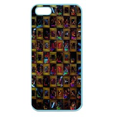 Kaleidoscope Pattern Abstract Art Apple Seamless iPhone 5 Case (Color)