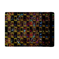 Kaleidoscope Pattern Abstract Art Apple Ipad Mini Flip Case