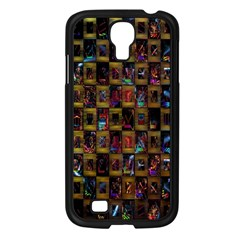 Kaleidoscope Pattern Abstract Art Samsung Galaxy S4 I9500/ I9505 Case (black)