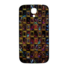 Kaleidoscope Pattern Abstract Art Samsung Galaxy S4 I9500/i9505  Hardshell Back Case