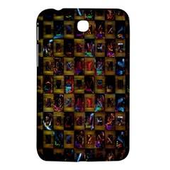 Kaleidoscope Pattern Abstract Art Samsung Galaxy Tab 3 (7 ) P3200 Hardshell Case