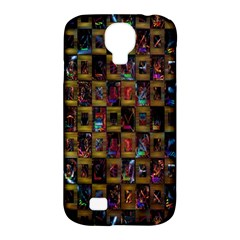 Kaleidoscope Pattern Abstract Art Samsung Galaxy S4 Classic Hardshell Case (pc+silicone)