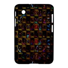 Kaleidoscope Pattern Abstract Art Samsung Galaxy Tab 2 (7 ) P3100 Hardshell Case