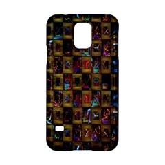 Kaleidoscope Pattern Abstract Art Samsung Galaxy S5 Hardshell Case