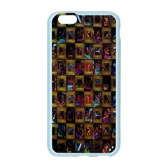 Kaleidoscope Pattern Abstract Art Apple Seamless iPhone 6/6S Case (Color)