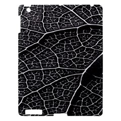 Leaf Pattern  B&w Apple iPad 3/4 Hardshell Case