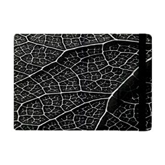 Leaf Pattern  B&w Apple iPad Mini Flip Case