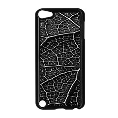 Leaf Pattern  B&w Apple iPod Touch 5 Case (Black)