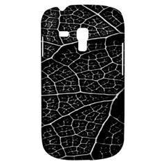 Leaf Pattern  B&w Galaxy S3 Mini