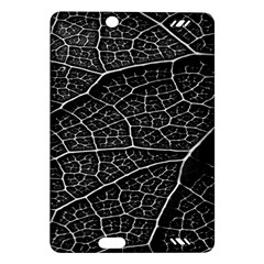 Leaf Pattern  B&w Amazon Kindle Fire HD (2013) Hardshell Case