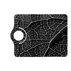 Leaf Pattern  B&w Kindle Fire Hd (2013) Flip 360 Case