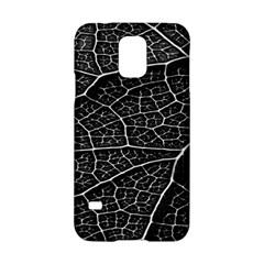 Leaf Pattern  B&w Samsung Galaxy S5 Hardshell Case