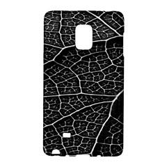 Leaf Pattern  B&w Galaxy Note Edge