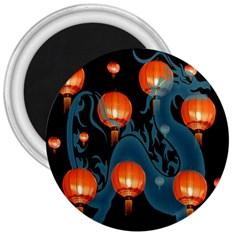 Lampion 3  Magnets