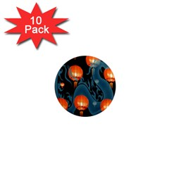 Lampion 1  Mini Magnet (10 pack)