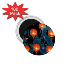 Lampion 1 75  Magnets (100 Pack)