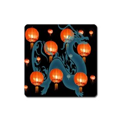 Lampion Square Magnet