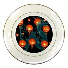 Lampion Porcelain Plates