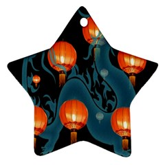 Lampion Star Ornament (two Sides)
