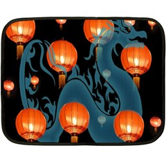 Lampion Double Sided Fleece Blanket (mini)