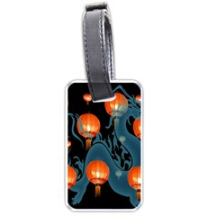 Lampion Luggage Tags (two Sides)