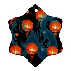 Lampion Ornament (Snowflake)
