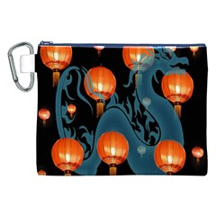 Lampion Canvas Cosmetic Bag (XXL)