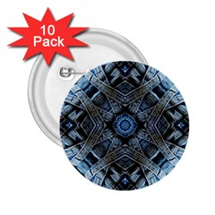 Jeans Background 2.25  Buttons (10 pack)
