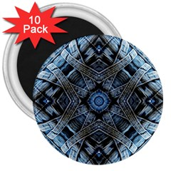 Jeans Background 3  Magnets (10 pack)