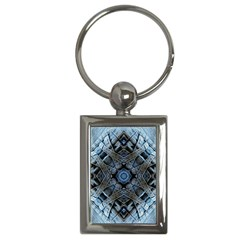 Jeans Background Key Chains (Rectangle)