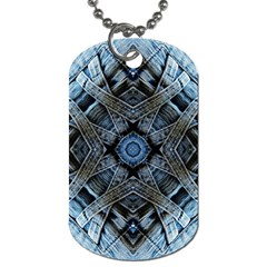 Jeans Background Dog Tag (Two Sides)
