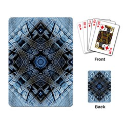 Jeans Background Playing Card