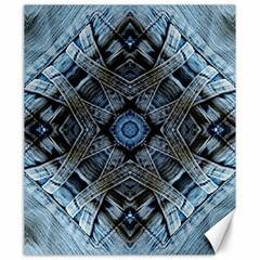 Jeans Background Canvas 20  x 24