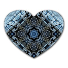 Jeans Background Heart Mousepads