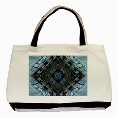 Jeans Background Basic Tote Bag (Two Sides)