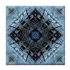 Jeans Background Face Towel