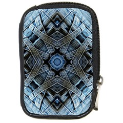 Jeans Background Compact Camera Cases