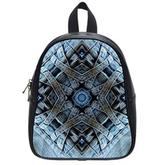 Jeans Background School Bags (Small)