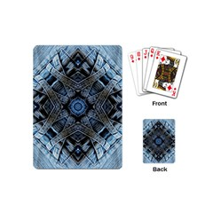 Jeans Background Playing Cards (mini)