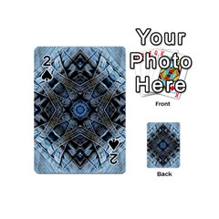 Jeans Background Playing Cards 54 (Mini)