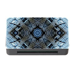Jeans Background Memory Card Reader With Cf