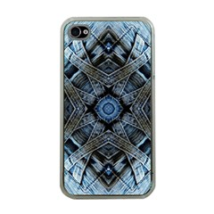 Jeans Background Apple iPhone 4 Case (Clear)