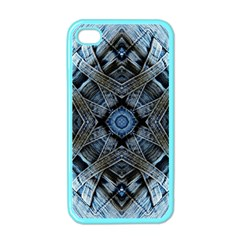 Jeans Background Apple Iphone 4 Case (color)