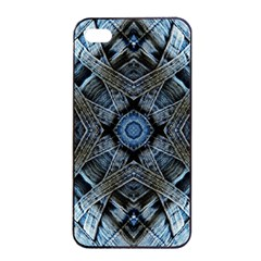 Jeans Background Apple Iphone 4/4s Seamless Case (black)